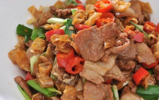 Fried Pork with Salted Pepper