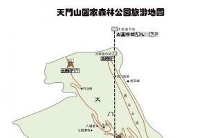 Zhangjiajie Tianmenshan Map