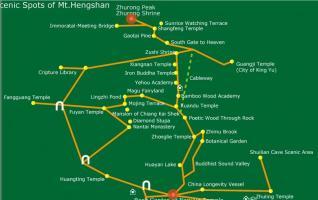 Hengshan Travel map of China-Hengyang maps