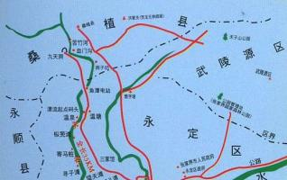 Maoyan River Drifting Map