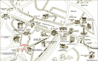 Fenghuang Town Map(Phoenix Ancient Town Map)