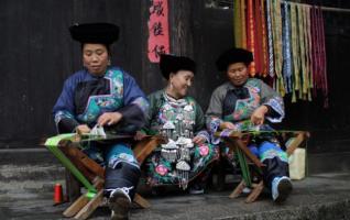 Zhangjiajie Manual Ribbon of Miao Nationality