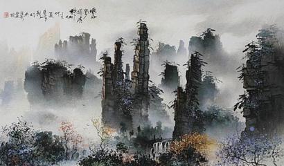 Li Junsheng Sandstone Painting