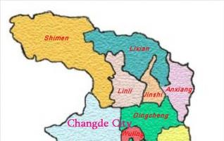 Changde Travel Map