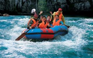 Zhangjiajie Lou River Drifting