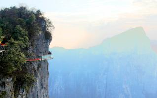 Tianmenshan Glass Plank Road