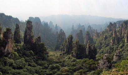 Zhangjiajie Tourism Resources