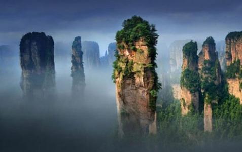 Yuanjiajie(Avatar mountain)