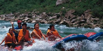 Zhangjiajie Join-in Tour to Jiutian Cave and Rafting in Maoyan river