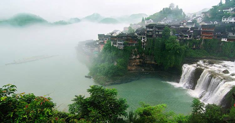 1 Day Tour to Furong Town and Rafting in Mengdong river