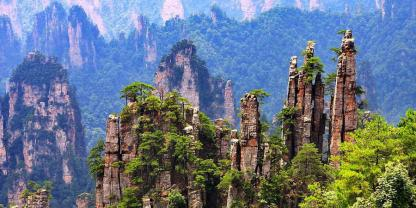 Zhangjiajie join-in group day trip to Zhangjiajie national forest park