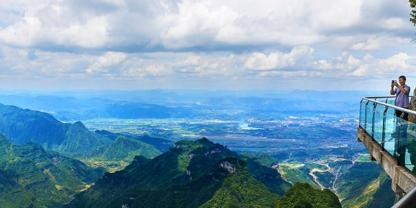 Zhangjiajie join-in group day trip to Tianmen mountain-sky walk