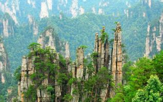 Zhangjiajie tourism main attractions collection