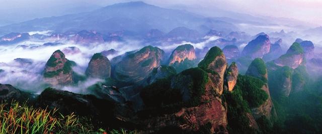 Shaoyang Langshan Mountain Scenic Area