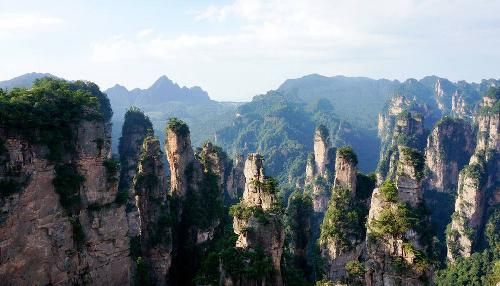 3N4D Group tour for Zhangjiajie rock climbing tour in avatar park