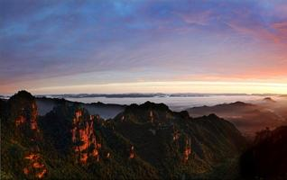 Zhangjiajie's best places for sunrise & sunset tour