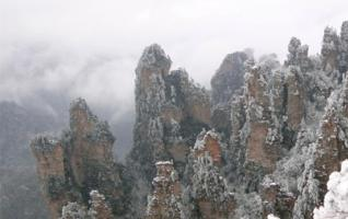 Top 5 places for Zhangjiajie winter tour