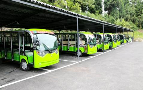 Sky Garden Tourism Electric Vehicle