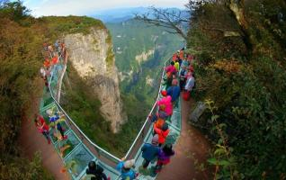About Full introduction for Zhangjiajie Glass Plank Road