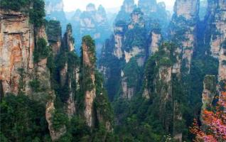 Zhangjiajie World Geopark once again won the
