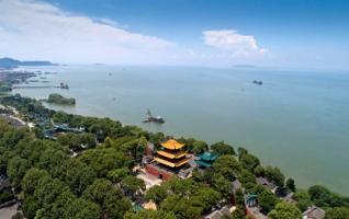 Beautiful Dongting Lake Scenery