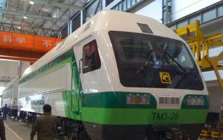 China's rail transiport goes global