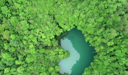 Zhangjiajie Heart-shaped lake