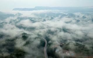 Rain turns Zhangjiajie's Banping village into fairyland